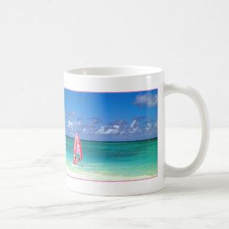 Windsurfing Hawaii Classic White Coffee Mug