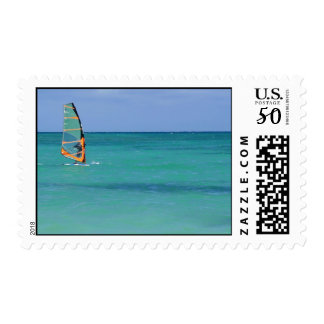Windsurfing Hawaii Postage