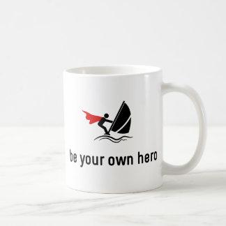 Windsurfing Hero Coffee Mug