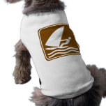 Windsurfing Highway Sign Pet Clothing