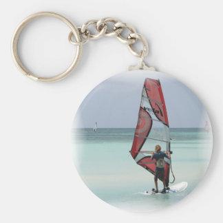 Windsurfing Horizon Keychain
