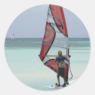 Windsurfing Horizon Sticker