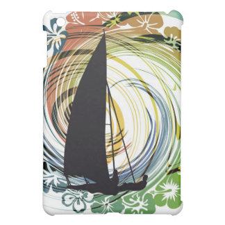 Windsurfing illustration iPad mini case