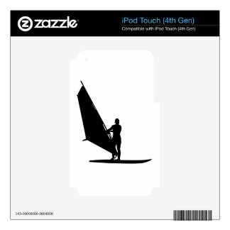 Windsurfing iPod Touch 4G Decal