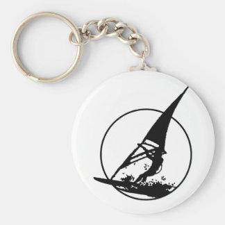 Windsurfing Key Chain