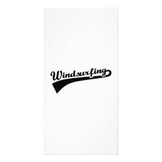Windsurfing Photo Card
