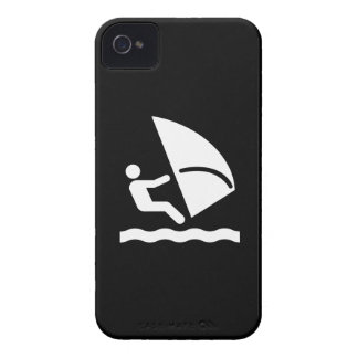 Windsurfing Pictogram iPhone 4 Case
