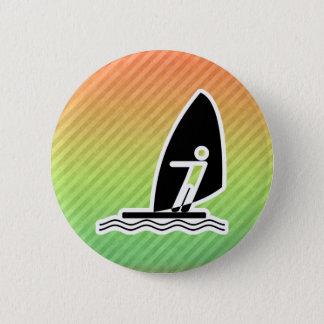 Windsurfing Pinback Button
