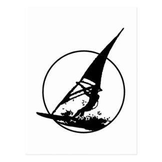 Windsurfing Postcard