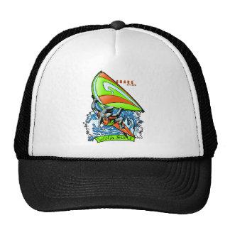 Windsurfing Shark Attack Trucker Hat