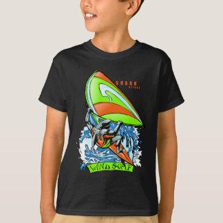 Windsurfing Shark Attack T-Shirt