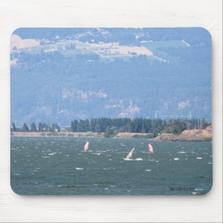 Windsurfing the Gorge Mousepad Mouse Pad