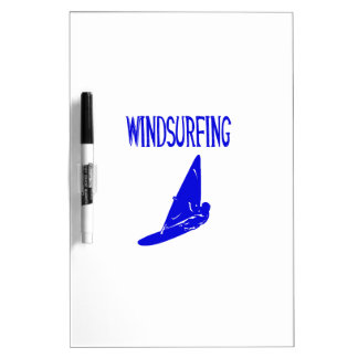 windsurfing v1 blue text sport.png Dry-Erase board