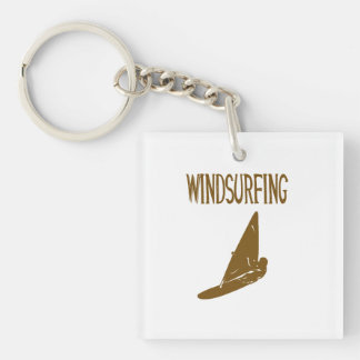 windsurfing v1 brown text sport copy.png acrylic key chains