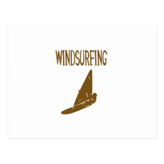 windsurfing v1 brown text sport copy.png postcard
