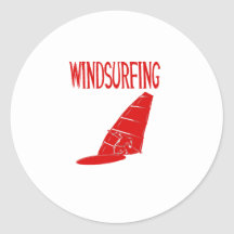 windsurfing v2 red text sport.png sticker