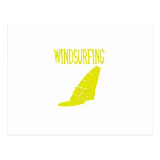 windsurfing v2 yellow text sport copy.png postcard