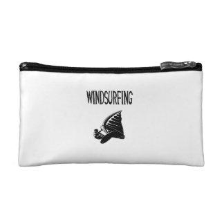 windsurfing v5 black text sport windsurf windsurfe cosmetics bags