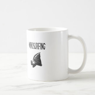 windsurfing v5 black text sport windsurf windsurfe coffee mug