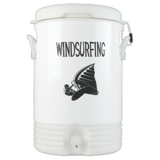 windsurfing v5 black text sport windsurf windsurfe cooler