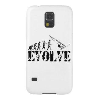 Windsurfing Windsurf Evolution Sport Art Galaxy S5 Covers