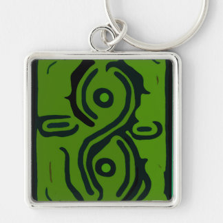Windswept 8 - The World With Only One Color Key Chains