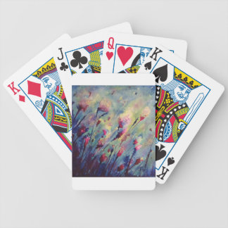 Windswept Bicycle Playing Cards