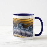 Windswept Fractal Art Mug