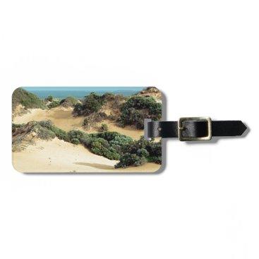 Beach Themed Windswept sand dunes, Australia Luggage Tag