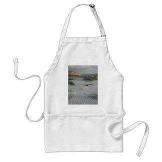 Windswept Sandy Beach Adult Apron