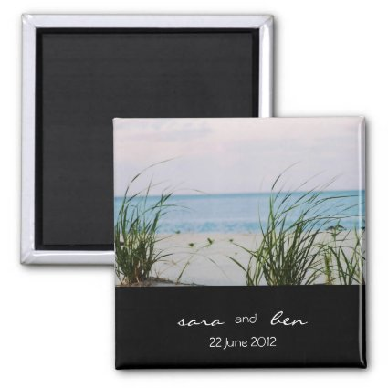 Windswept Save the Date Magnet