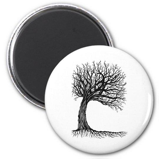 windswept tree of life magnet