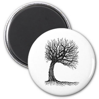 windswept tree of life magnets