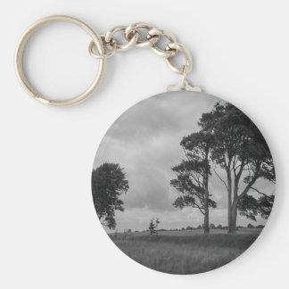 Windswept Trees Keychain