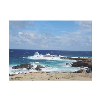 Windswept Waves Canvas Print