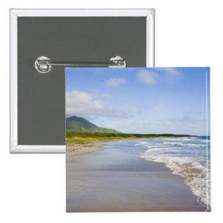 Windward Beach, Nevis Button