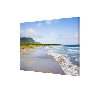 Windward Beach, Nevis Canvas Print