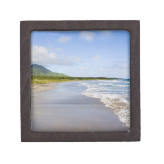 Windward Beach, Nevis Jewelry Box