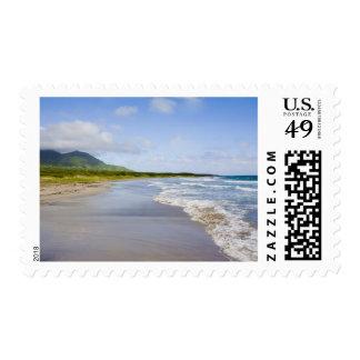 Windward Beach, Nevis Postage Stamp