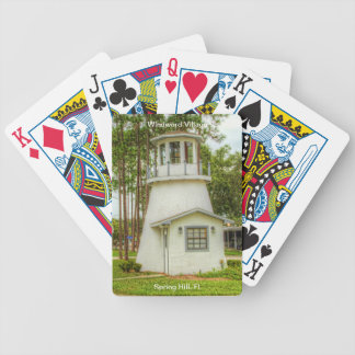 Windward Village, Spring Hill, FL Bicycle Playing Cards