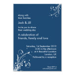 Windwhisp (stormy blue) 5x7 5x7 paper invitation card