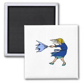 Windy 2 Inch Square Magnet