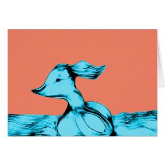 Windy Alien  World Blue Creature Card