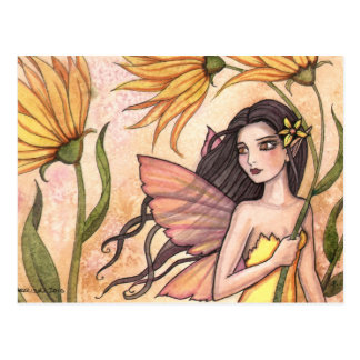 Windy and The Wildflowers Fairy Postcard