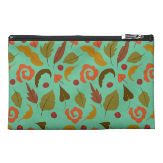 Windy Autumn Day Travel Accessory Bag
