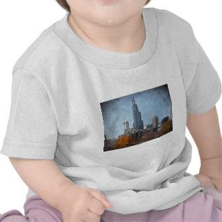 Windy City Autumn Camisetas