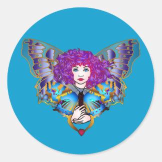 Windy Classic Round Sticker