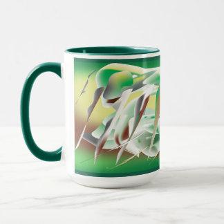 Windy Cold Day in Winter Mug