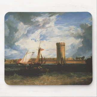 Windy Day by William Turner Mouse Pads