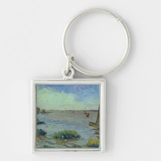 Windy Day on the Elbe, 1911 Keychain